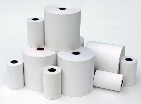 POS-C Receipt Paper Direct Thermal, 58X63X12 - 50 Rolls