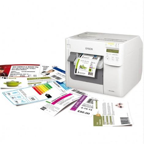 EPSON® Colorworks C3500 Farve Etiket Printer