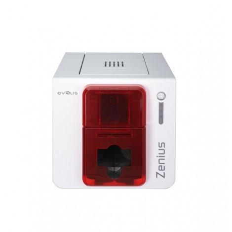 Evolis Zenius Classic, Enkeltsidet, USB, Kort-Printer, Rød