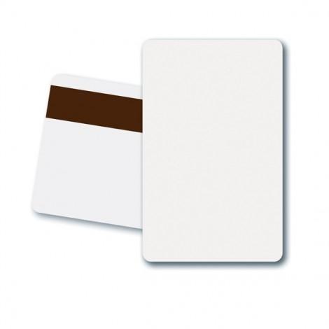 Zebra Plastic Card, MS, HiCo, Pack of 500, White