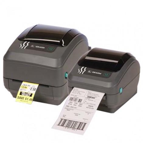 Zebra® GK420T™ Thermal Transfer Labelprinter