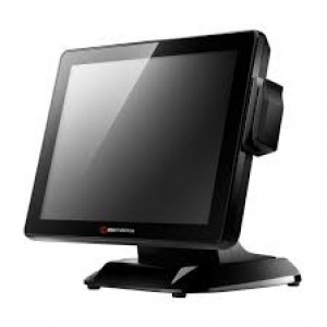 "ColorMetrics P2100, POS-Computer, 38.1cm-15"", Resistive Touch, Windows POSReady 7 EN - Black"