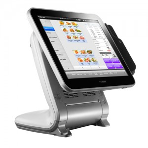 "POSbank Anyshop II, 38.1cm-15"", AccuTouch, Windows 7, Silver"