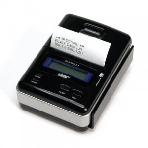 Star SM-S200 Bluetooth® Direct Thermal Mobile POS-Printer