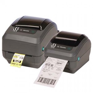 Zebra® GK420T™ Thermal Transfer Labelprinter