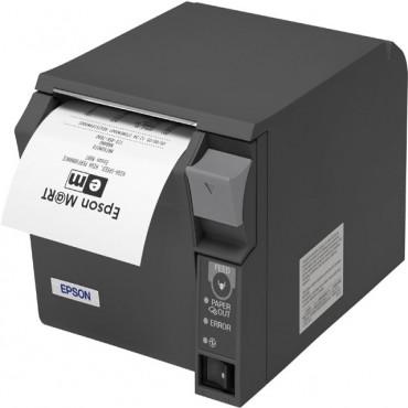 EPSON® TM-T70II, USB, Ethernet-Network, Dark Grey