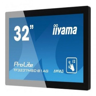 iiyama ProLite TF3237MSC, 80cm-31.5'', 12 TP, Full HD, Projected Capacitive
