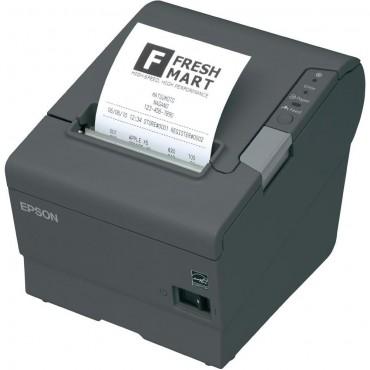 EPSON TM-T88V POS-Printer, USB, Serial, Mørkegrå