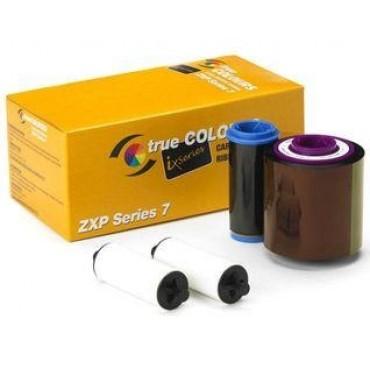 Zebra ZXP 7, YMCKO Ribbon - 750 Images - 800077-742EM