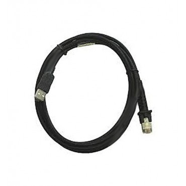 Datalogic USB cable, Straight, 2m, Type A, Black