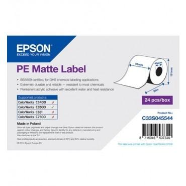 Epson Label Roll, Matte, Width: 51mmx29m - C33S045544