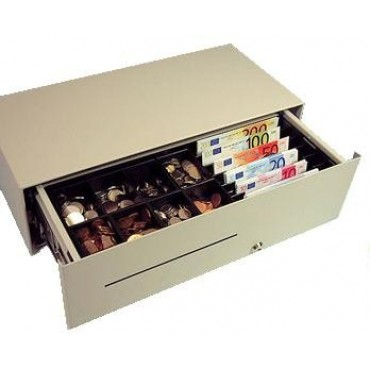 CashBases Micro Electric Micro-Cashdrawer White