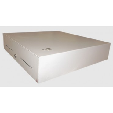 CashBases SlimLine SL-4 Electric Cashdrawer Small White