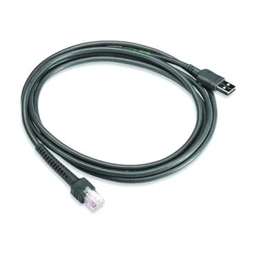 Zebra USB Kabel, 2.1m, Lige
