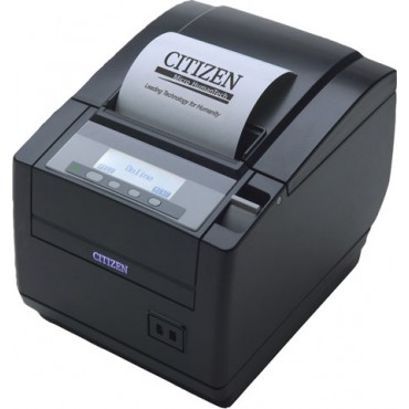 CITIZEN CT-S801 POS-Printer, USB, Cutter, Display, Black