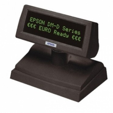 EPSON DM-D110BA, VFD, USB/RS232, Customer Display, Dark Grey