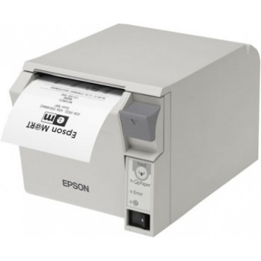 EPSON® TM-T70II, USB, Bluetooth®, Light Grey