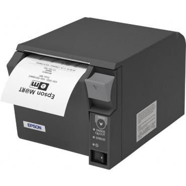 EPSON® TM-T70-iHub, Ethernet-Network, ePOS, Mørkegrå