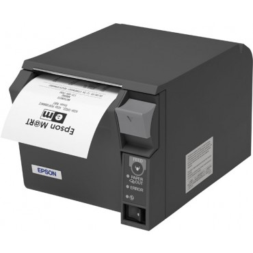 EPSON® TM-T70II, USB, Parallel, Dark Grey