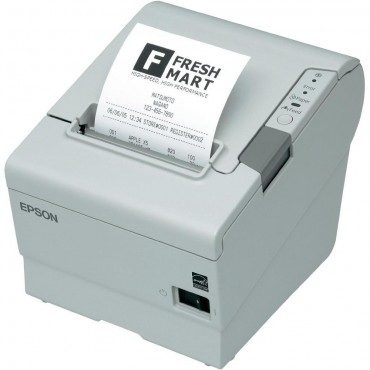 EPSON TM-T88V POS-Printer, USB, Ethernet-Network, Light Grey