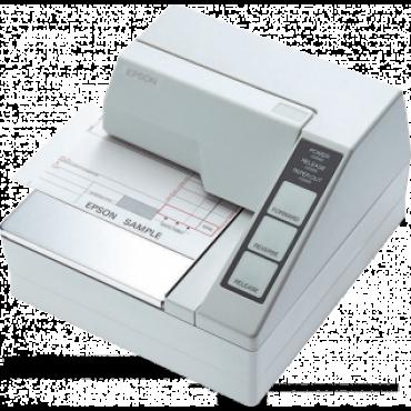 EPSON TM-U295, Dot-Matrix, RS232, White