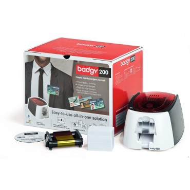 Evolis Badgy200, Enkeltsidet, USB, Kort-Printer