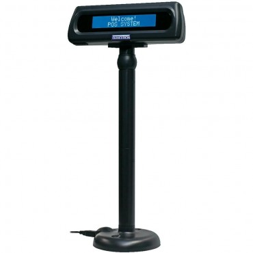 Glancetron 8034, Customer Display, VFD, Kit (USB), Black