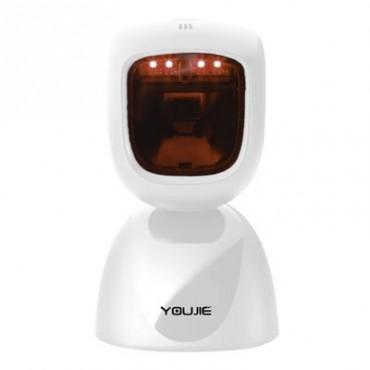 Honeywell Youjie HF600, 2D, Imager, Multi-IF, kit (USB), White