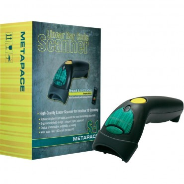 Metapace S-1, 1D, Barcodescanner, kit (USB), Black