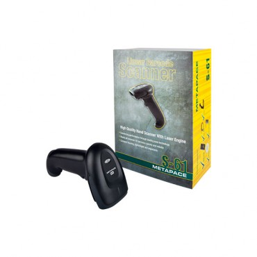 Metapace S-61, 1D, Barcodescanner, Kit (USB)