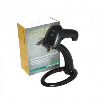 Metapace S-62, 2D, Barcodescanner, kit (USB), Black