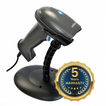 Unitech MS836, 1D, Laser, Kit (USB & Stand), Barcode scanner