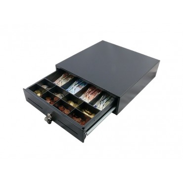 POS-C C33 Small Cashdrawer, Electric - Black