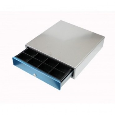 POS-C E420-LO, Electric, All-RVS Front-Opening Cashdrawer