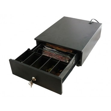 POS-C H240 Electric Mini-Cashdrawer Black