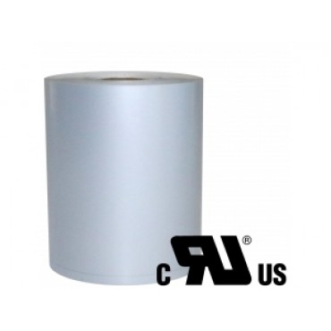 POS-C Continues Label, W: 105mm, Polyester, Silver