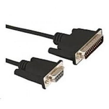 POS-C RS232 Kabel, 1.5m, Sort