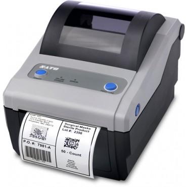 SATO CG408, Direct Thermal, 203DPI, USB/LAN