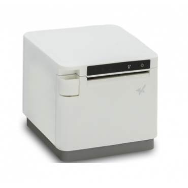 Star mC-Print3, USB, BT, Ethernet, 203DPI, Cutter, White