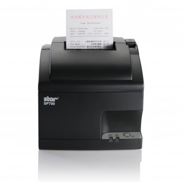 Star SP742MD, RS232-Serial, DOT-Matrix Printer, Cutter, Dark Grey