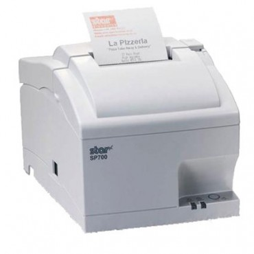 Star SP742MC, RS232-Serial, DOT-Matrix Printer, Cutter, White