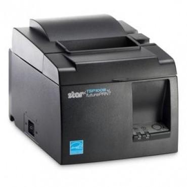 Star TSP143III, Ethernet/LAN, 203 dpi, Cutter, Mørkegrå