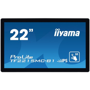 iiyama ProLite TF2215MC,21.5'', Touch, Open-Frame, 10 TP, Full HD