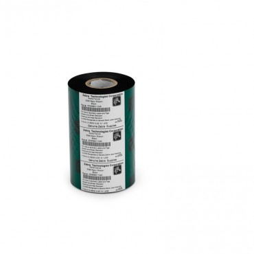 Zebra® ZipShip 5095 Ribbon, Resin, Core: 12.7