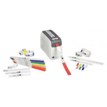 Zebra® Hc100™ Direct Thermal 300DPI Wristband printer