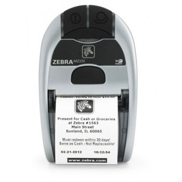 Zebra® iMZ220™ Bluetooth® Direct Thermal Mobile POS-Printers