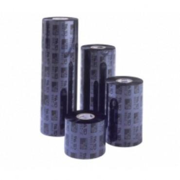 Zebra® ZipShip 2300, Ribbon, WAX, 110x74, Core: 12.7, Black
