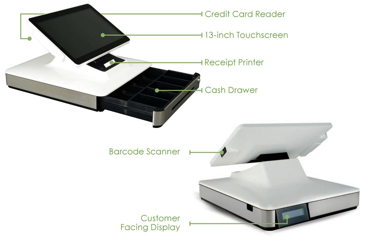 Posbank a9 thermal receipt printer