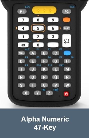 Zebra Mc3300 2d Lr 47 Keys Esd Grip Android Mc330k