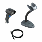 Datalogic QuickScan I QD2430, USB, stand - black